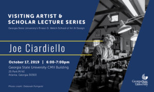 Joe Ciardiello - Visiting Artist And Scholar Lecture Series