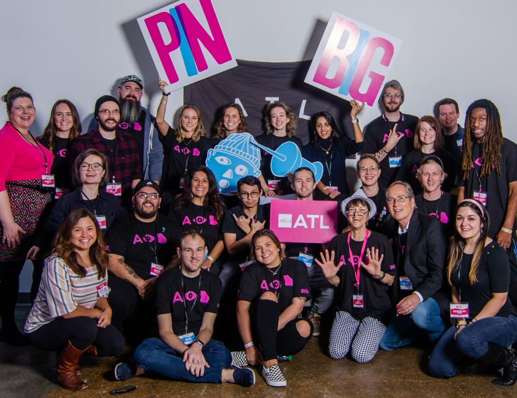 AIGA Atlanta Student Board November 2019